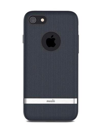 Vesta iPhone 8 / 7 Bahama Mavi Telefon Kılıfı-Moshi